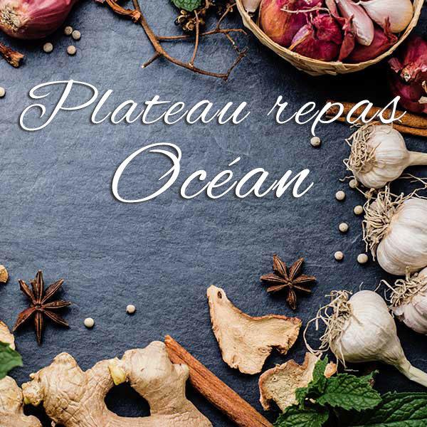 Plateau repas Océan