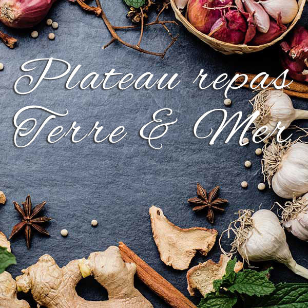 Plateau repas Terre & Mer