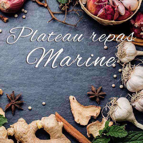 Plateau repas Marine